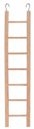 Dřevěný žebřík závěsný - 6 příček 28cm