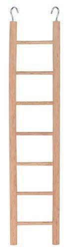 Dřevěný žebřík závěsný - 7 příček 32cm