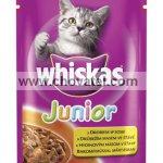 Whiskas Junior drůbeží 100g