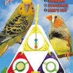3xtrojúhelník+2zrcátka+zvonek