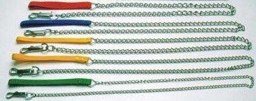 Vodítko řetěz s nylonovým úchytem 1,6mm/120cm