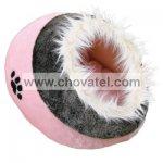 Pelíšek koule Minou č.1 růžová 35x26x41cm