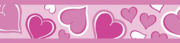 Red Dingo vodítko Breezy Love Pink 18mm x 1,8m