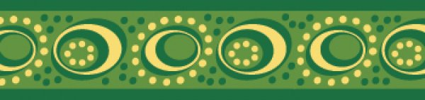 Red Dingo vodítko Cosmos Green 25mm x 1,8m