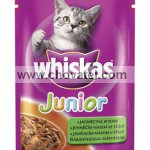 Whiskas Junior jehněčí 100g
