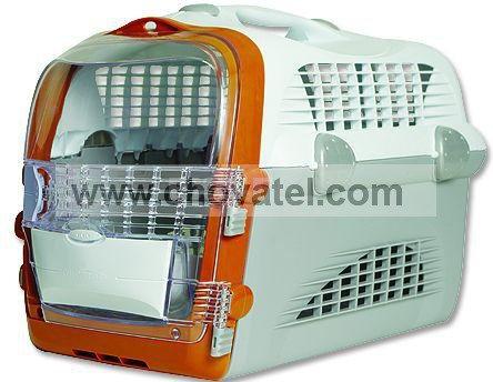 Přepravka Cat It Pet Cargo Cabrio oranžová 51x33x35