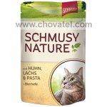 Kapsička SCHMUSY Nature's Menü kuře + losos 100g