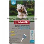 ADVANTIX pro psy Spot-on 1x1,0ml, 4-10kg