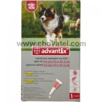 ADVANTIX pro psy Spot-on 1x2,5ml na 10-25kg