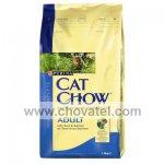 Purina Cat Chow Adult - Tuňák, losos 1,5kg