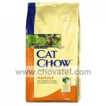 Purina Cat Chow Adult - Kuře, krůta 1,5kg