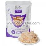 Brit Care Cat Kitten kapsa Chicken & Cheese Pouch 80g