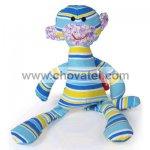 E. T. toy, textilní hračka, modrá barva