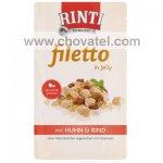 Kapsička RintiFiletto kuře a hovězí v želé 125g