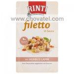 Kapsička RintiFiletto kuře a jehně v omáčce 125g