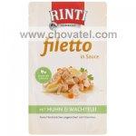 Kapsička RintiFiletto kuře a křepelčí vajíčko v omáčce 125g