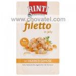 Kapsička RintiFiletto kuře a zelenina v želé 125g