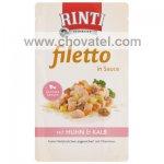 Kapsička RintiFiletto kuře a telecí v omáčce 125g