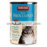 Animonda BROCCONIS mořský losos + kuře 400g