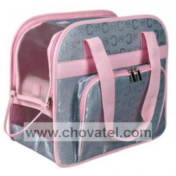 Přepravní taška Alisha 39x20x32cm růžová