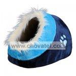 Pelíšek koule Minou č.1 modrá 35x26x41cm