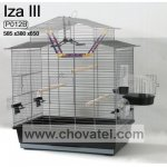Klec IZA 3 černá 58x38x65cm