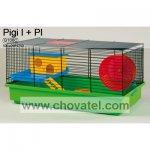 Klec PIGI I + vybavení plastové 50x28x25cm