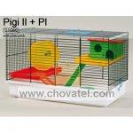 Klec PIGI II + vybavení plastové 50x28x32cm