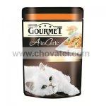 Gourmet A la Carte kapsička krůta s hráškem a mrkví 85g