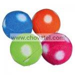 Flízové chrastící míčky, různé barvy 4cm