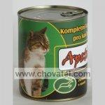 Apetit - Konzerva pro kočky 855g Zvěřina