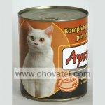 Apetit - Konzerva pro kočky 855g Játrová