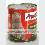 Apetit - Konzerva pro kočky 855g Hovězí