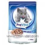 PreVital kapsa kočka losos 100g