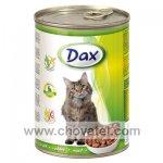Dax králičí kousky - kočka 415g