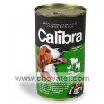 Calibra Dog konzerva jehněčí + hovězí + kuřecí 1240g