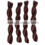 Jerky tyčka kroucená brown 12,5cm 1ks