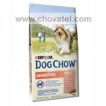 Purina Dog Chow Adult Sensitive Salmon & Rice 14kg