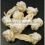 Snack - Bílý uzel bůvolí proužky s kalciem 1ks