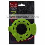 Hračka Dog Fantasy silikon kroužek světle zelený 10cm