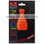 Hračka Dog Fantasy silikon stehno oranžové 10cm
