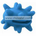 Hračka Dog Fantasy silikon ježek světle modrý 6cm