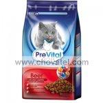 PreVital kočka 1,8kg hovězí se zeleninou