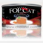 FOP CAT konzerva Mousse telecí - kotě 85g