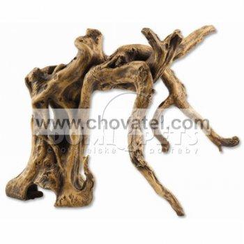 Dekorace Aqua Excellent Kořen stromu žlutý Med-1 29cm