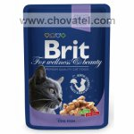 Brit Premium Cat kapsa with Cod & Fish 100g
