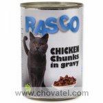 Konzerva Rasco kuřecí kousky ve šťávě 400g cat