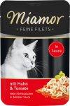Kapsička Miamor Feine Filets kuře a rajčata 100g