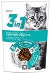3in1 pochoutka Cat Sterile kuřecí 80g