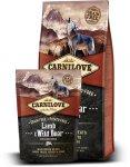 CARNILOVE Lamb & Wild Boar for Adult 2 x 12kg